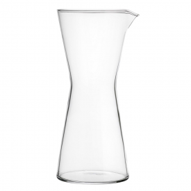 Kartio Pitcher 950ml Clear, Mouth Blown