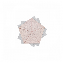 Issey Miyake X Iittala Medium Table Flower Pink