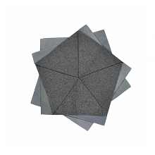 Issey Miyake X Iittala Large Table Flower Dark Grey