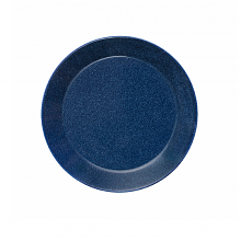 Teema Dotted Blue Plate 21cm