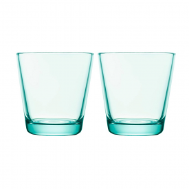Kartio Tumbler 210ml Water Green Pair