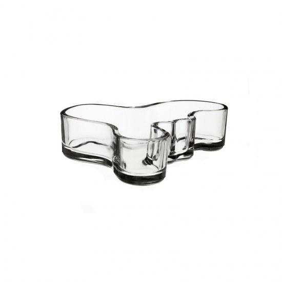 Aalto Bowl 13.6x4cm Clear