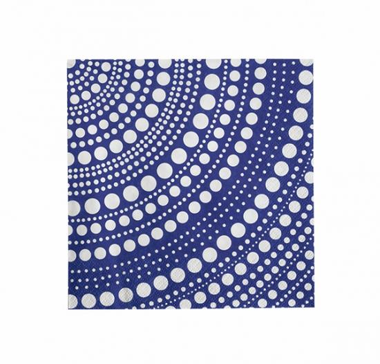 Kastehelmi Paper Nakin Set of 20 Ultramarine Blue