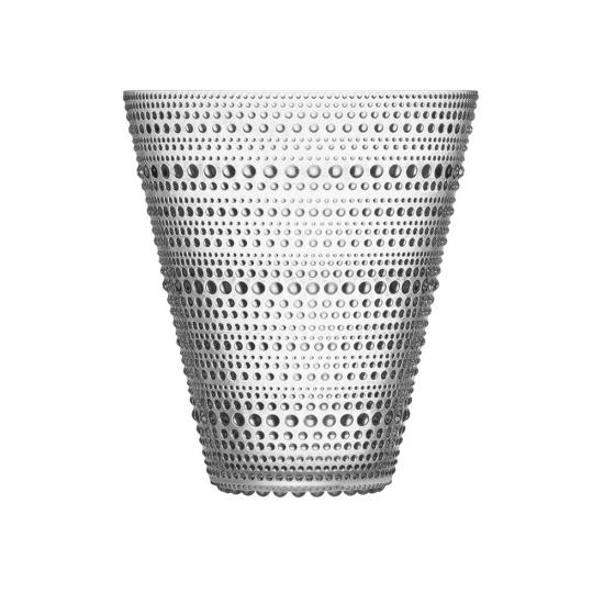 Kastehelmi Vase 15cm Clear