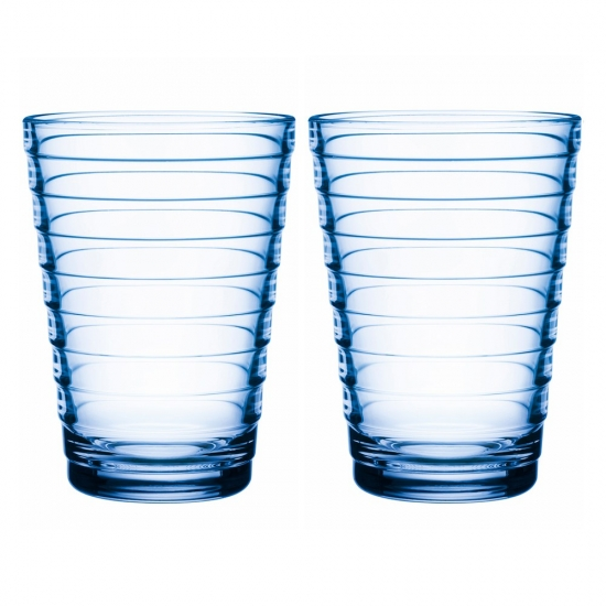 Aino Aalto Highball 330ml Aqua Pair