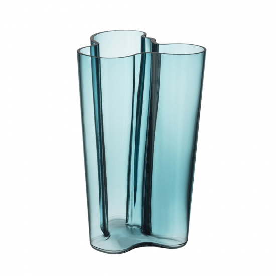 Alvar Aalto Vase 25cm Sea Blue