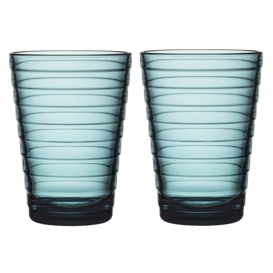 Aino Aalto Highball Pair Sea Blue