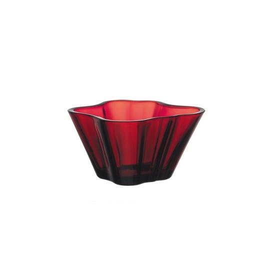 Alvar Aalto Bowl Cranberry 7.5cm