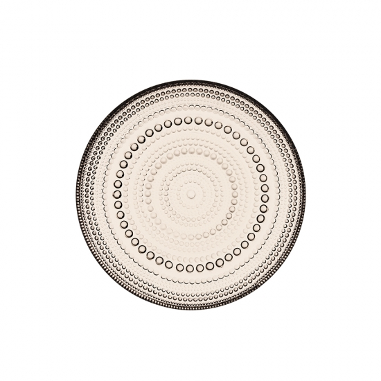 Kastehelmi Plate 17cm Linen