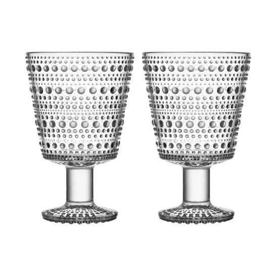 Kastehelmi Universal Glass 260ml Pair Clear