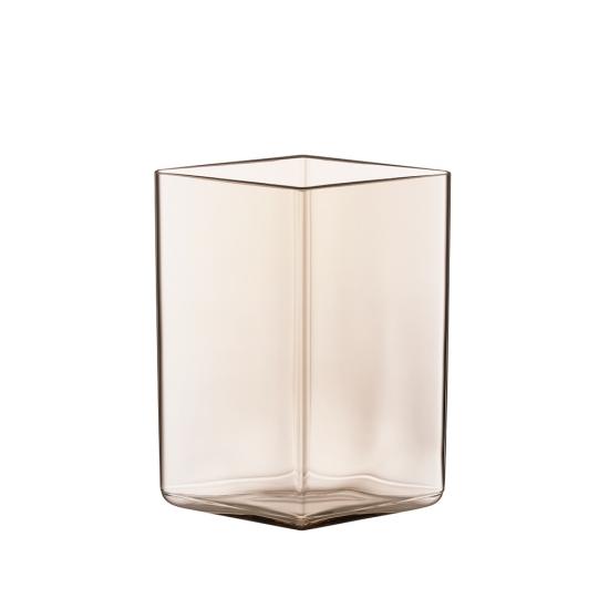 Ruutu Vase 11.5 x 14cm Linen