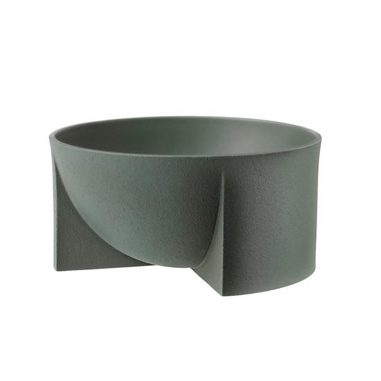 Kuru Bowl 24 x 12cm Moss Green