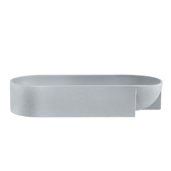 Kuru Bowl 27 x 7.5cm Light Grey