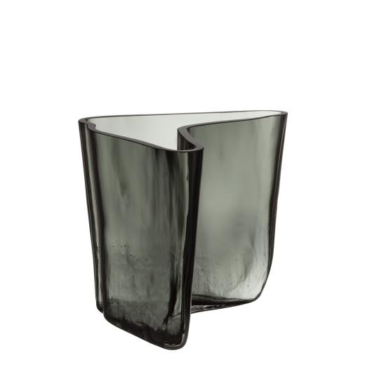Alvar Aalto Collection Vase 17.5cm Dark Grey Limited Edition