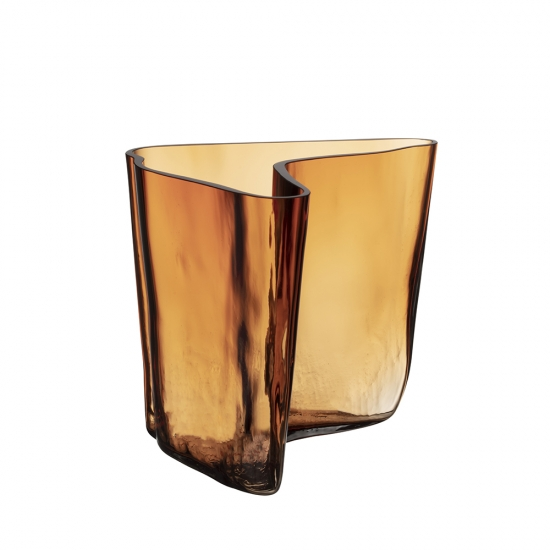 Alvar Aalto Collection Vase 17.5cm Copper Limited Edition