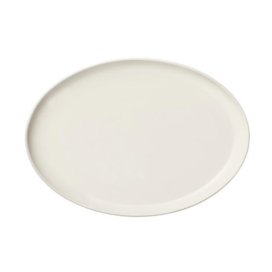 Essence Oval Plate White 25cm