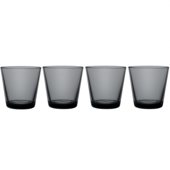 Kartio Tumbler Dark Grey Set Of 4