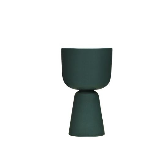 Nappula Plant Pot 26cm Dark Green