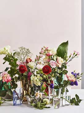 Speak in Flowers. Combine your favourite flowers to create your perfect bouquet. Forget the rules and  follow your instincts.