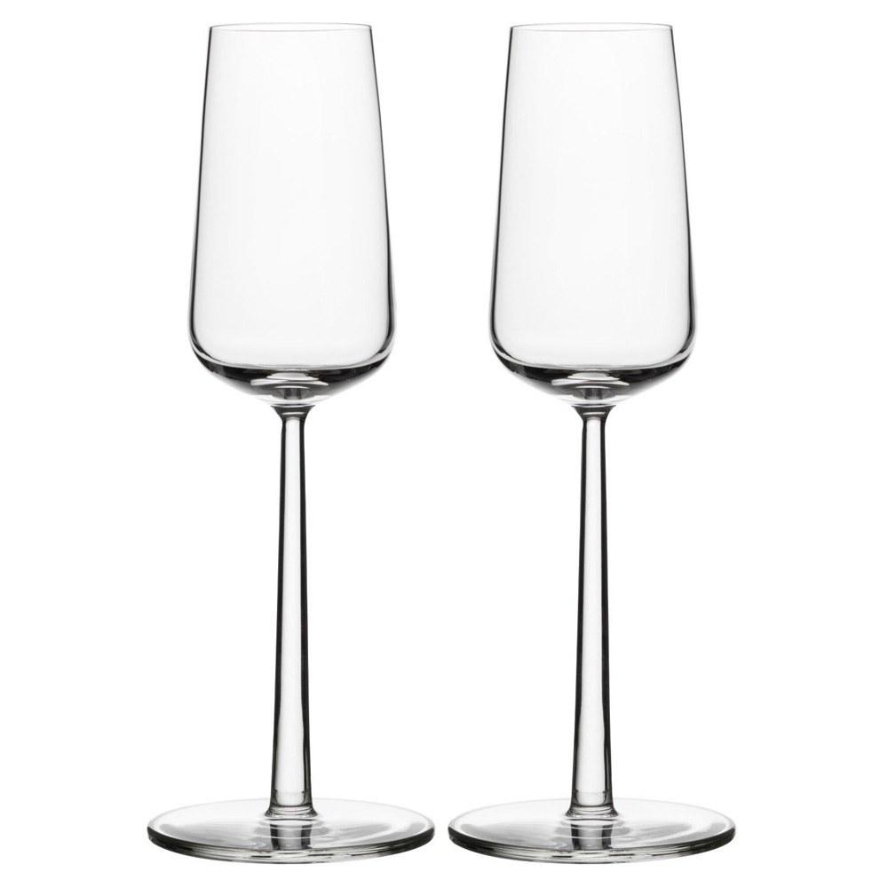 Essence 210ml Champagne Glass Pair